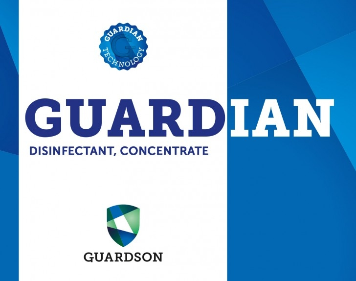 Guardian Disinfectant, Concentrate